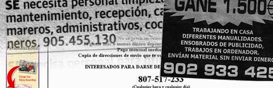 Ofertas fraudulentas de trabajos. Como prevenirlas. Blog Elche detectives