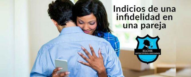 Indicios de una Infidelidad. Servicios de Detectives