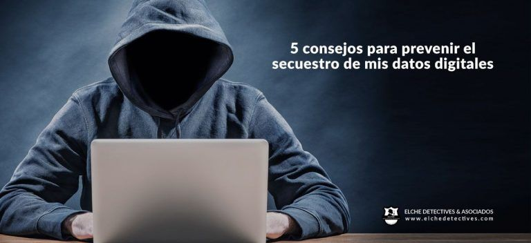 Como prevenir el secuestro de datos digitales