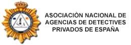 Logo Asociación Nacional de agencias de detectives privados de España