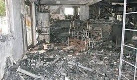 Incendios provocados. fraudes a las aseguradoras